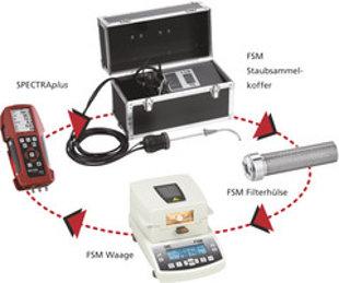 FSM daļiņu izmešu mēraparāts